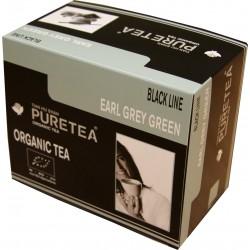 Boite de thé Bio en sachet - Earl Grey Green