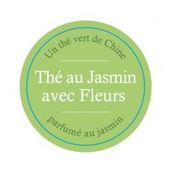 Thé au Jasmin avec fleurs