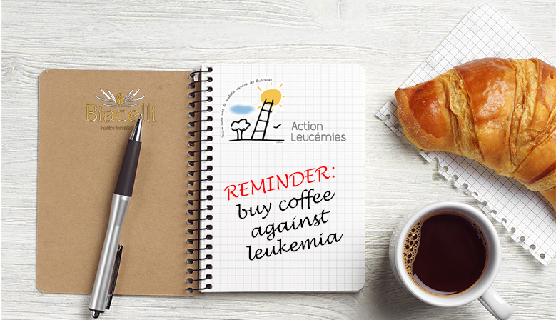 Coffee against leukemia